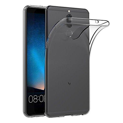 AICEK Huawei Mate 10 Lite Hülle, Transparent Silikon Schutzhülle für Huawei Mate 10 Lite Case Clear Durchsichtige TPU Bumper Huawei Mate 10 Lite Handyhülle (5,9 Zoll)