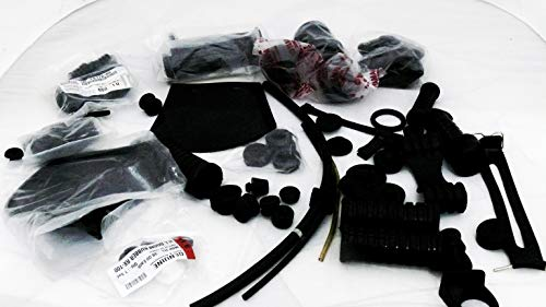 Road Religion YAMAHA RX100 / RXG 135 /YEIS, COMPLETE RUBBER KIT