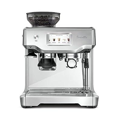 Breville BES880BSS Barista Touch Espresso Maker, Stainless Steel