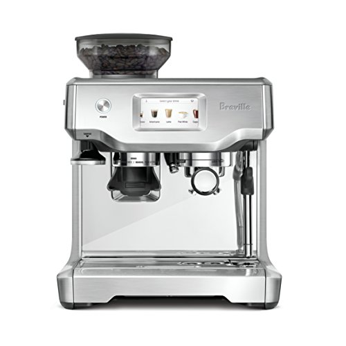 Breville BES880BSS Barista Touch Espresso Maker with Auto Steam Wand, Built-in Grinder $899.95