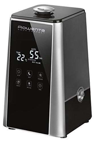 Rowenta HU5220 Aqua Perfect Silent Luftbefeuchter, 50m², Elektrischer Raumbefeuchter, Antibakteriell und leise