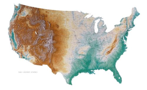 united states topographic map - 9