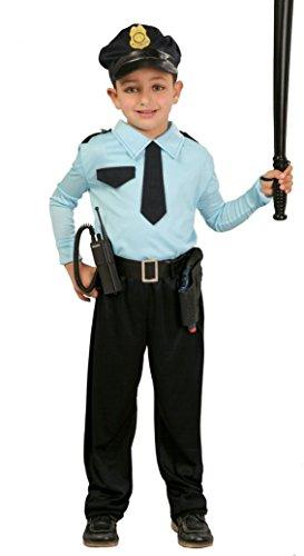 Guirca SL. Disney Déguisement de poliziotto-Bambino-Taglia : 7 9 Ans, Bleu et Bleu Clair - Version Italienne