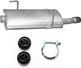 Vorderrohr Mittelrohr Auspuff  Peugeot 206 /&CC