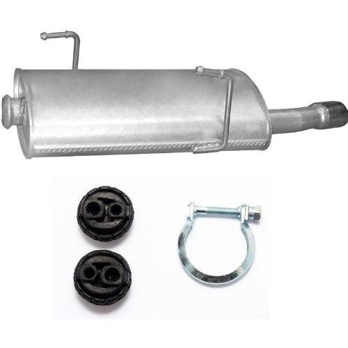 Auspuff Endschalldämpfer + Montagezubehör Neu(passend für das angegebene Fahrzeug ,siehe Artikelbeschreibung)