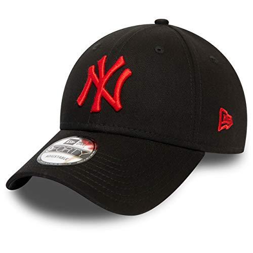 New Era 9Forty Cap - MLB New York Yankees schwarz/rot