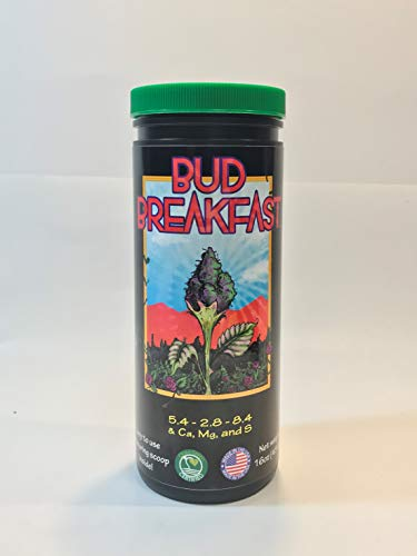 Bud Breakfast | Organic Cannabis Fertilizer | for Seed to Harvest 16oz - by Good Stuff Grow Nutrients