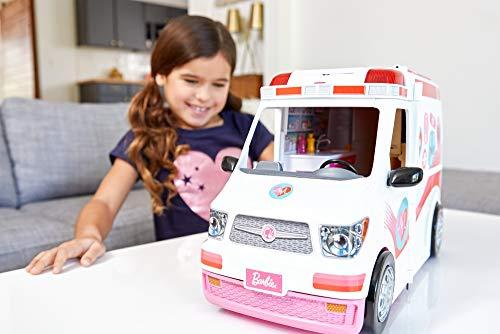 Ambulance de Secours Clinique Soins Médical Barbie - 2