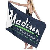 Lsjuee Toalla de baño, 80X130Cm Billy Madison Radisson Hotels Mix Toallas de baño Toallas de baño de Playa súper absorbentes para Gimnasio, Playa, SPA SWM