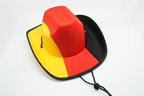 Cappello da Cowboy Lady (Coppa del Mondo 2014 tifosi della)