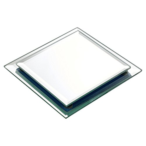 URBNLIVING Small Square Mirror Plate