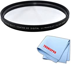 Tronixpro 86mm High Resolution Ultraviolet UV Protection Filter for Sigma 150-500mm f/5-6.3 DG OS HSM APO Autofocus Lens, Sigma 180mm f/2.8 APO Macro EX DG OS HSM Lens, Tamron 200-500mm + Micro Cloth