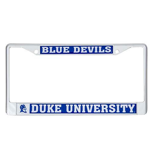 Duke University Blue Devils Metal License Plate Frame for Front or Back of Car Officially Licensed (Mascot) C