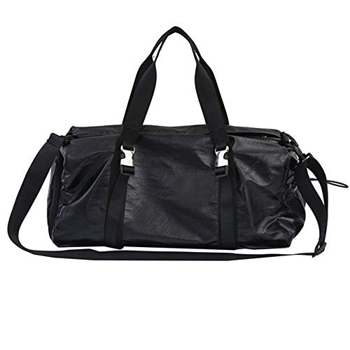 ZzheHou Sports Fitness Bag Dry Wet Separated Sport Gym Holdall Bag Training Handbag Yoga Bag Travel Overnight Weekend Shoulder Tote Bag For Man And Women Ideal For Outdoor Activities