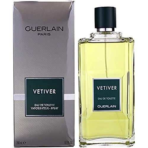Guerlain Vetiver Guerlain Eau De Toilette Spray for Men, 6.8 Ounce