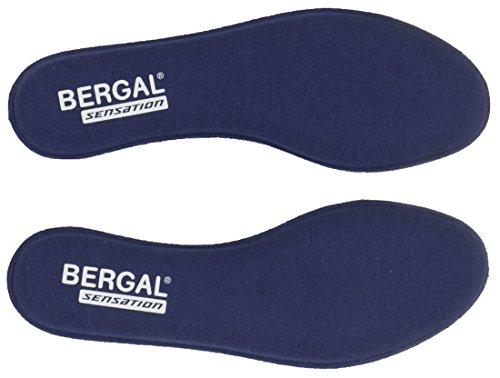 BERGAL 3 Paar Sensation Einlegesohle Sohle Visko Schaum Gr. 36-46 Memory Support, Schuhgröße:39 EU