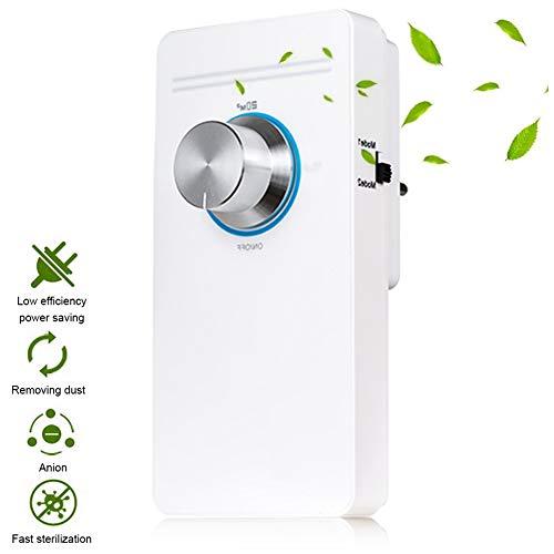 TYQIAO El ozono Generador de Peso Ligero, el generador del ozono Ozonizador Agua domésticos Vegetales Alimentos esterilizador, Verduras, Frutas, Esterilizar Cepillo de Dientes (Blanco)