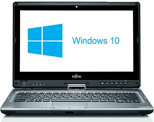 Fujitsu Lifebook T902 - Ordenador de sobremesa (procesador Intel Core i5-3320 de 8 GB, disco duro SSD de 120 GB, Windows 10 Home QWERTZ, teclado alemán) (Reacondicionado)