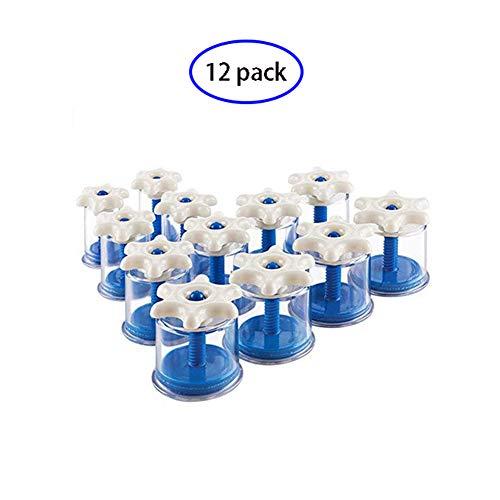 Dispositivo di coppettazione, coppettazione sottovuoto Manubrio manuale rotativo professionale 12 set di tazze