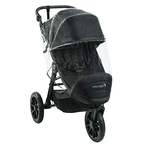 Baby Jogger 2105021 Kinderwagen-Wetterschutz und -Regenschutz | für City Elite2, City Mini2 (Dreirädrig) und City Mini GT2 | hält Regen, Schnee und Wind Ab, Transparent, 449 g