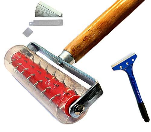 Rodillo de espino de 150 x 500 mm, rodillo para uñas, para