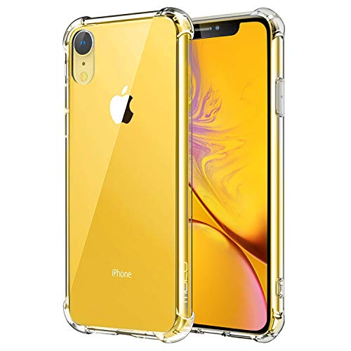 MoKo Rugged Transparent Cover for iPhone XR