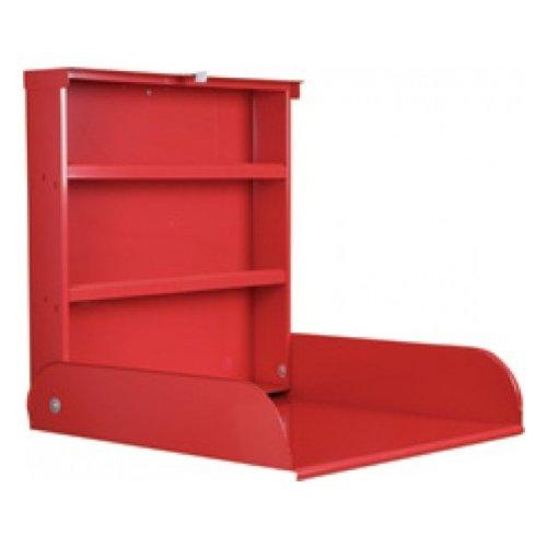 Table à langer murale Fifi rouge - byBo design