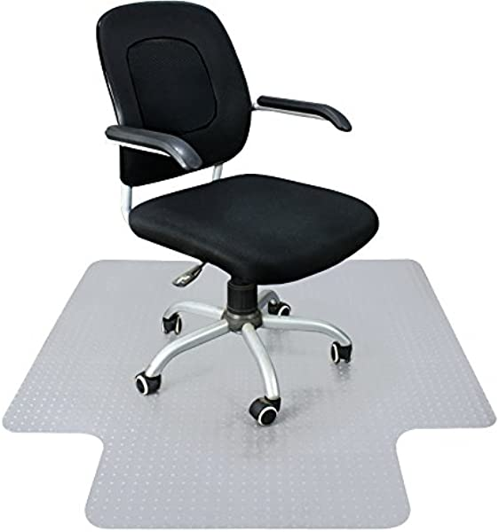 Super Deal 48 X 36 PVC Home Office Floor Chair Mat Studded With Lip 3mm 1 8 Thick For Carpet