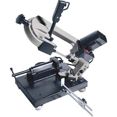 Klutch Benchtop Metal Cutting Band Saw