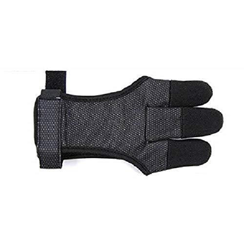 Bearpaw guantes de disparo Black glove, color , tamaño large