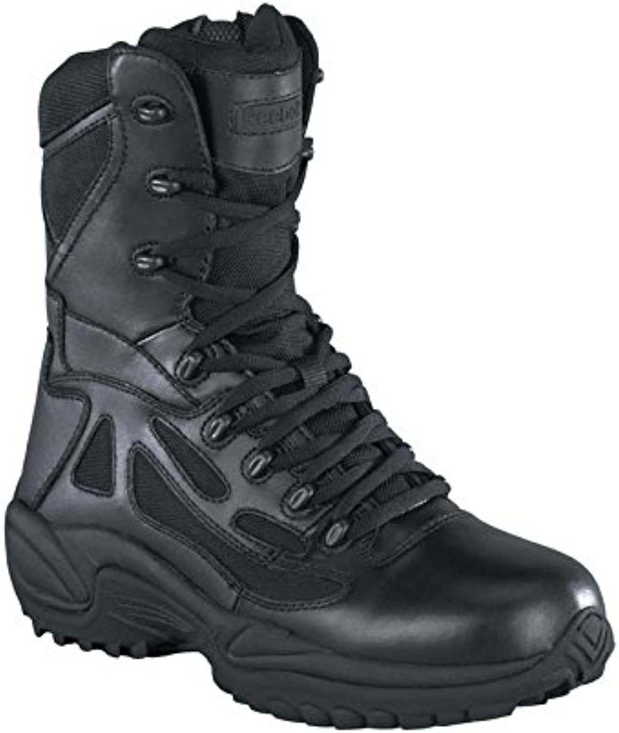 Reebok Men's 8  Rapid Response RB Soft Toe Combat Boot Black 5.5 M US