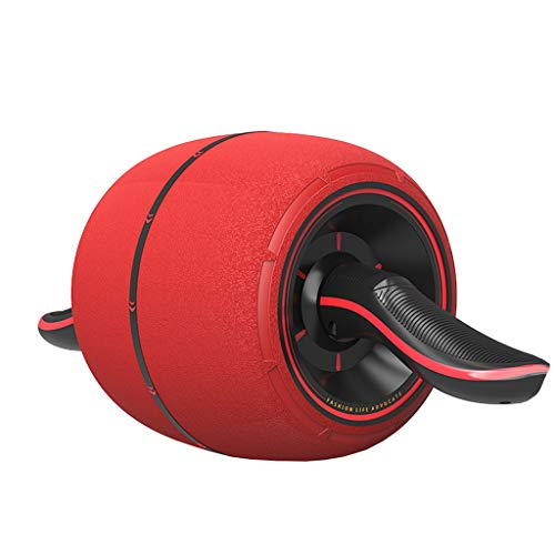 Usura antiscivolo della ruota del rullo anteriore - Ruota a rulli per esercizi addominali e core - Miglior allenamento per il core Attrezzi per il fitness generici portatili Home Palestra ideale