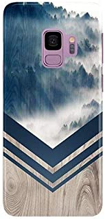Samsung Galaxy s9 Plus Phone Case - Case Escape - Nature Inspired - Wood Design - Impact Resistant - Matte Shell - Phone Case