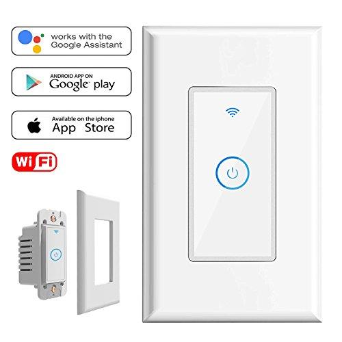 wifi smart light switch with amazon alexa