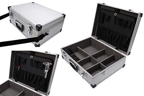 BGS 3304   Maletín de herramientas metálico de aluminio   460 x 340 x 150 mm