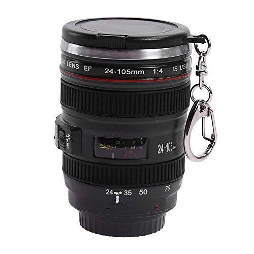 50 ml taza de lente de cámara creativa mini taza de té botella de agua caja de almuerzo para el hogar regalo de la novedad botella de Kang caliente taza y tapa caliente