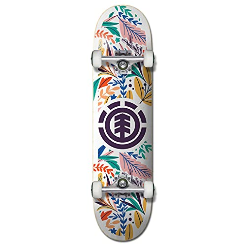 Element FLORAL Party Skateboard 2021, 7.75
