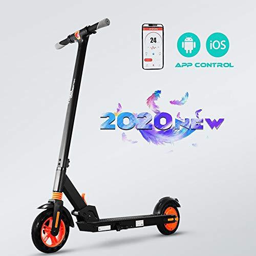 Elektroroller Erwachsener,8,5-Zoll-Vollreifen, bis zu 16 km/h, Geschwindigkeitsregelung, maximale Zuladung (264 lbs), einstufiger Falttretretroller, doppelte Scheibenbremse, Elektro Scooter Adult
