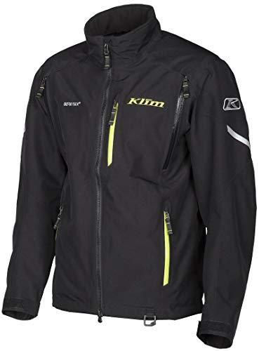 KLIM Tomahawk Parka Men's Ski Snowmobile Jacket - Black / 2X-Large