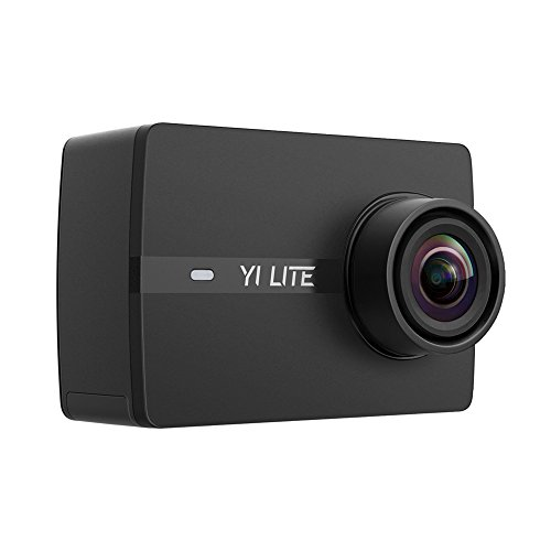 YI Lite Action Camera 1080p Black (Camera)