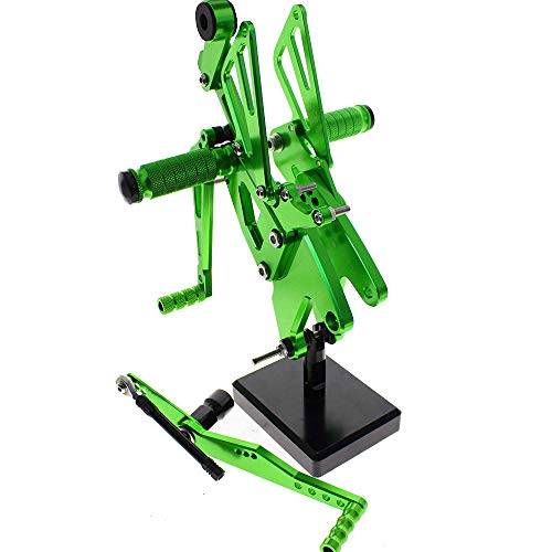 WGJTXYDW Motorcycle Foot Pegs Rest Footpegs Pedals for sale  Delivered anywhere in UK