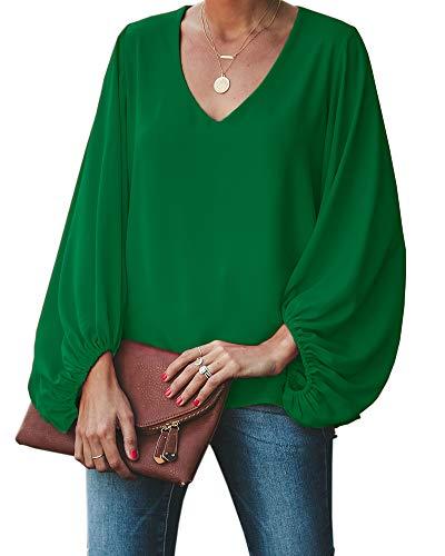 Damen Damen Passform Baumwolle Langärmelig Crew Neck Tee T-Shirt T-Shirt