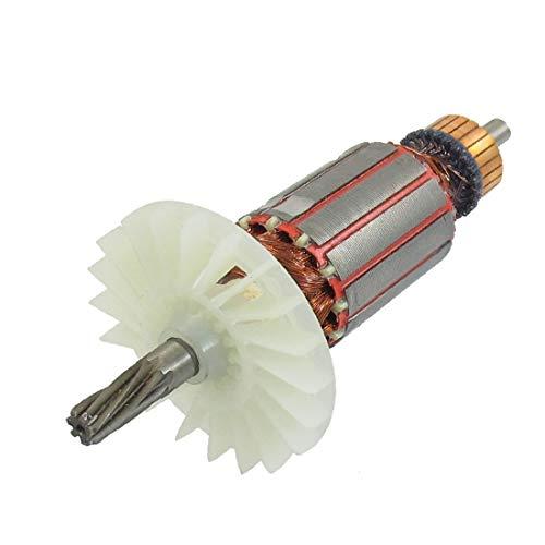 X-DREE Motor eléctrico Rotor 7 d_i_entes eje de transmisión para taladro de impacto for bosch 2-26 (1d0c7ec1fd17f837d529221115ea3706)