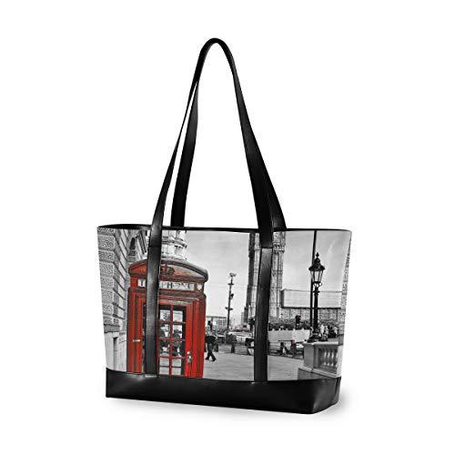 London Impression Handtasche Große Kapazität Casual Computer Einkaufstasche Outdoor Fashion