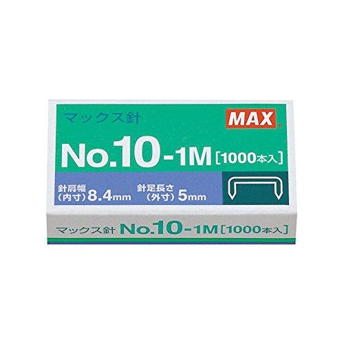 マックス 10号ホッチキス針 No.10-1M MS91187