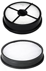 Hoover 303903001 & 303902001 WindTunnel Air Bagless Upright Filter Kit, Includes 1 Hoover Primary Washable Foam Filter Part 303903001, & 1 Hoover HEPA Exhaust Cartridge Filters Part 303902001. Fits Hoover Windtunnel Air models UH70400, UH70401PC, UH7...