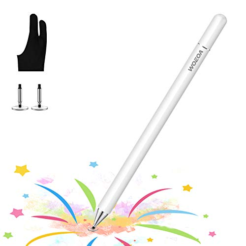Lápiz Stylus Capacitivo Universal,WOEOA Stylus Pen con Dibujo Guante,Bolígrafos Digitales para...