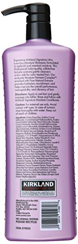 Kirkland Signature Professional Salon Formula Moisture Shampoo Review