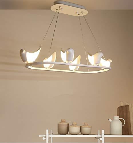 Verlichte hangende vogel van moderne kunst, verlichting, oorbellen, lampen, hoge prestaties, de verlichting van de hanglampen draagt de kroonluchter om de lamp Z15 in te schakelen.