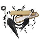 BMARLF Ninja Cosplay Accessories, 1 Pcs Big Kunai...